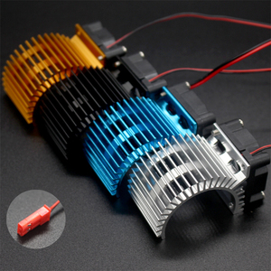 Brushless Motor Heatsink + Fan Cooling 550 540 Size RS540 Heat Sink Cover Electric Engine For RC model Car HSP 7014(China)