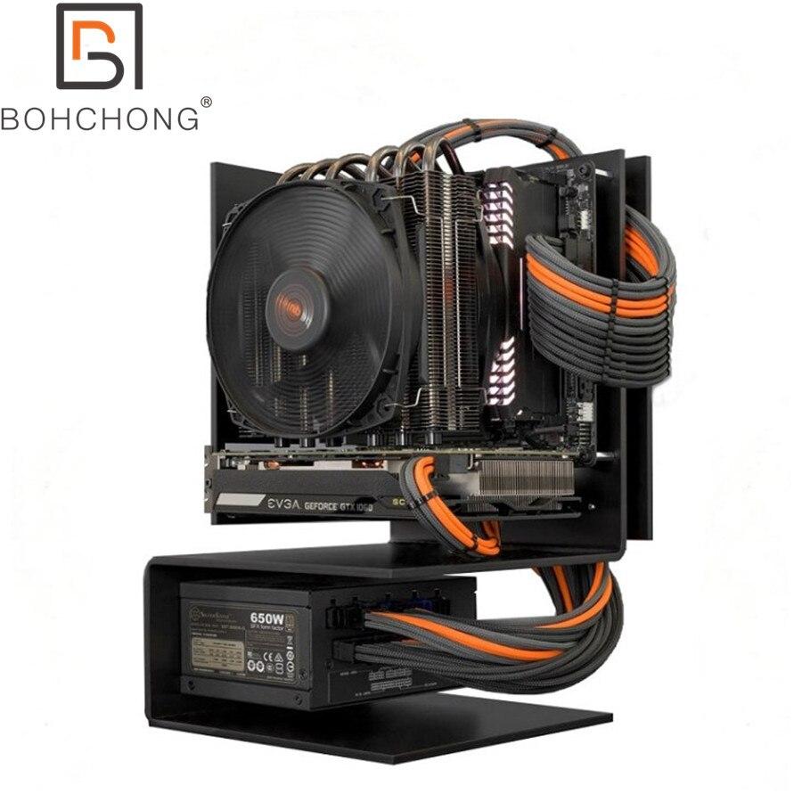Custom Make 4mm PET Sleeve Computer Power Modular Cables