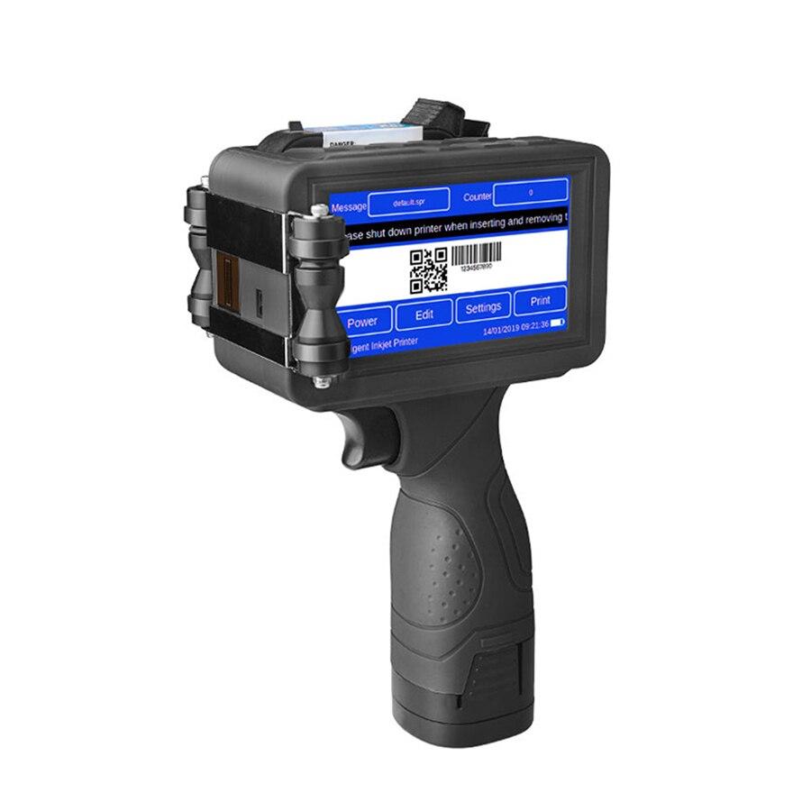 impressora portatil handheld industrial do codigo de barras qr da impressora a jato de tinta m6