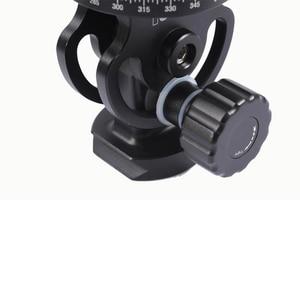 Image 2 - IShoot – tête de boule panoramique 2D 360, pour appareil photo, trépied, monopode, plaque à dégagement rapide, 2 voies