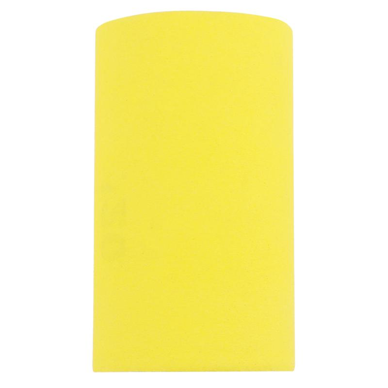 Yellow Flocking Sandpaper Roll Abrasive Sandpaper Polishing For Wood Paint Arts Crafts Plastic (40 Mesh /1 Roll)