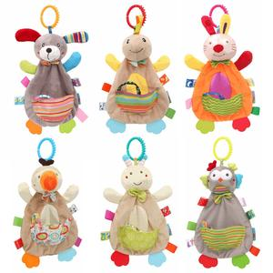 Baby Toys Doll Bed-Stroller Educational-Toy Hanging Animal Plush Rabbit Children 0-12-Months