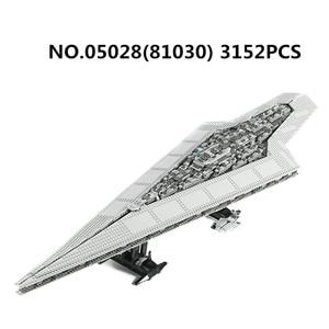 Image 5 - 05027 05132 81098 05028 UCS kuvvet Waken ölüm Imperial Star Destroyer savaşları yapı taşları Millennium gemi Falcon tuğla oyuncak