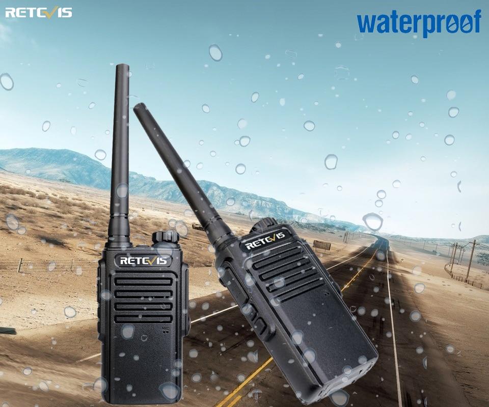 RETEVIS RT647 RT47 Walkie Talkie IP67 Waterproof PMR446 FRS Comunicador VOX TOT Two Way Radio Handheld Transceiver Walkie-talkie