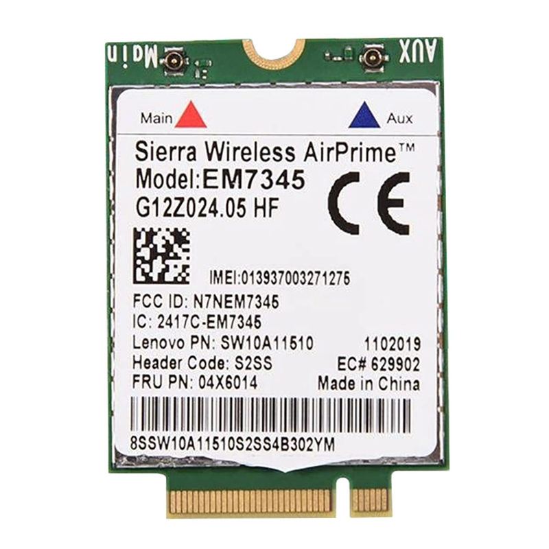 EM7345 Wireless Module for Lenovo EM7345 LTE 4G Module FRU: 04X6014 T450 X250 X240 T440L440 Wireless Module