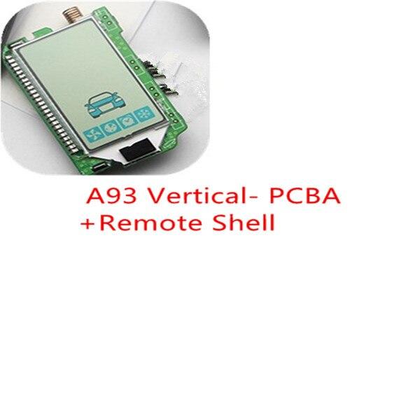 Starline A93 Vertical Screen LCD Remote Control Keychain For Twage Starline A93 Two Way Car Burglar Alarm System