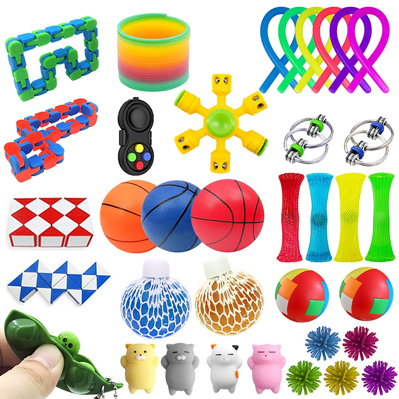 25PCS Toy Set Cheap Sensory Toys Pack for Kids or Adults Figetget Toys Pack Figit Toys img4