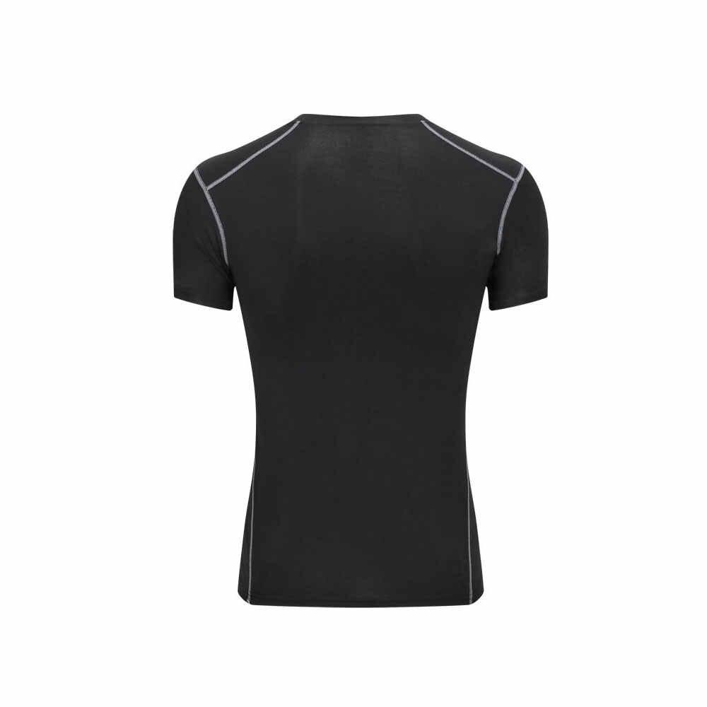Erkekler çabuk kuru nefes spor salonu gömlek erkekler spor tayt üst futbol formaları koşu tişörtü erkek futbol forması spor