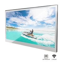 Souria 22 inch Magic Android 7.1 Mirror LED TV IP66 Waterproof Rated Bathroom Salon In Wall Mounted Flat Screen (ATSC or DVB)