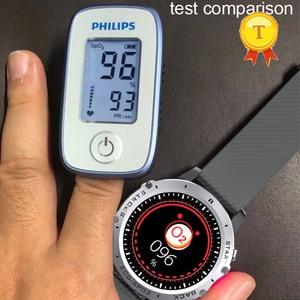 "Image 5 - אק""ג PPG חכם שעון גברים ספורט מדויק קצב לב Bluetooth Smartwatch עמיד למים IP68 מדויק דם לחץ חמצן smartband"