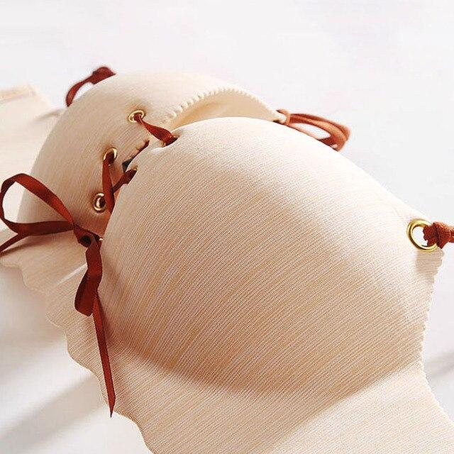 CINOON سوبر رفع حمالات الصدر مثير سلس المرأة الملابس الداخليةالإناث bralette الجمال الخلفي الملابس الداخلية السيدات حمالة 4