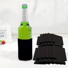 10 шт., вечерние крышки для бутылок, для напитков, пустая пивная банка, CoolersSoda, кулайс, рукава, наборы чашек, термоохладители, бутылка для воды, чашки, аксессуары