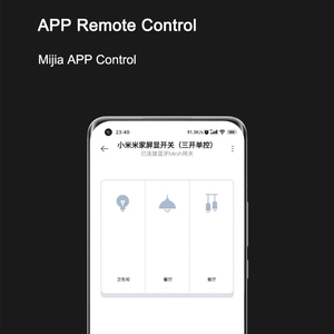 Image 4 - 2021 Original Xiaomi Mijia Smart Screen Display 3 Key Switch with Temperature and Humidity Sensor Work with Mi Home APP