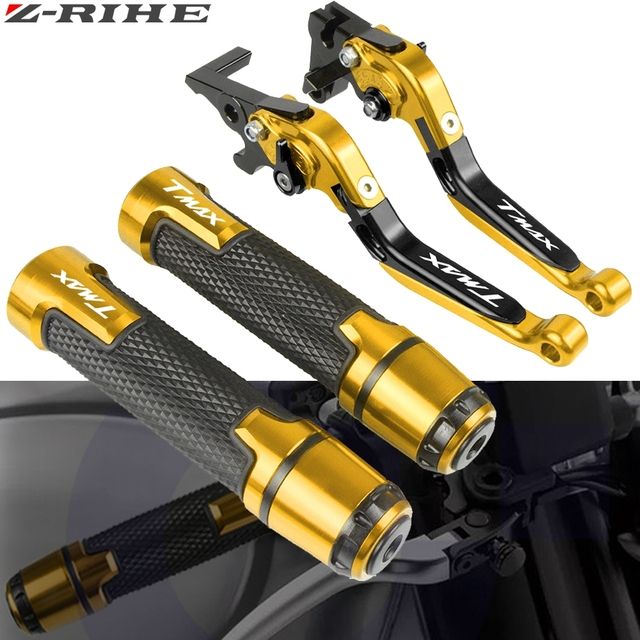 For YAMAHA T MAX TMAX 530 500 TMAX530 TMAX500 2008 2018 Motorcycle Brake Clutch Levers Handlebar grip Handle Hand Grips T MAX