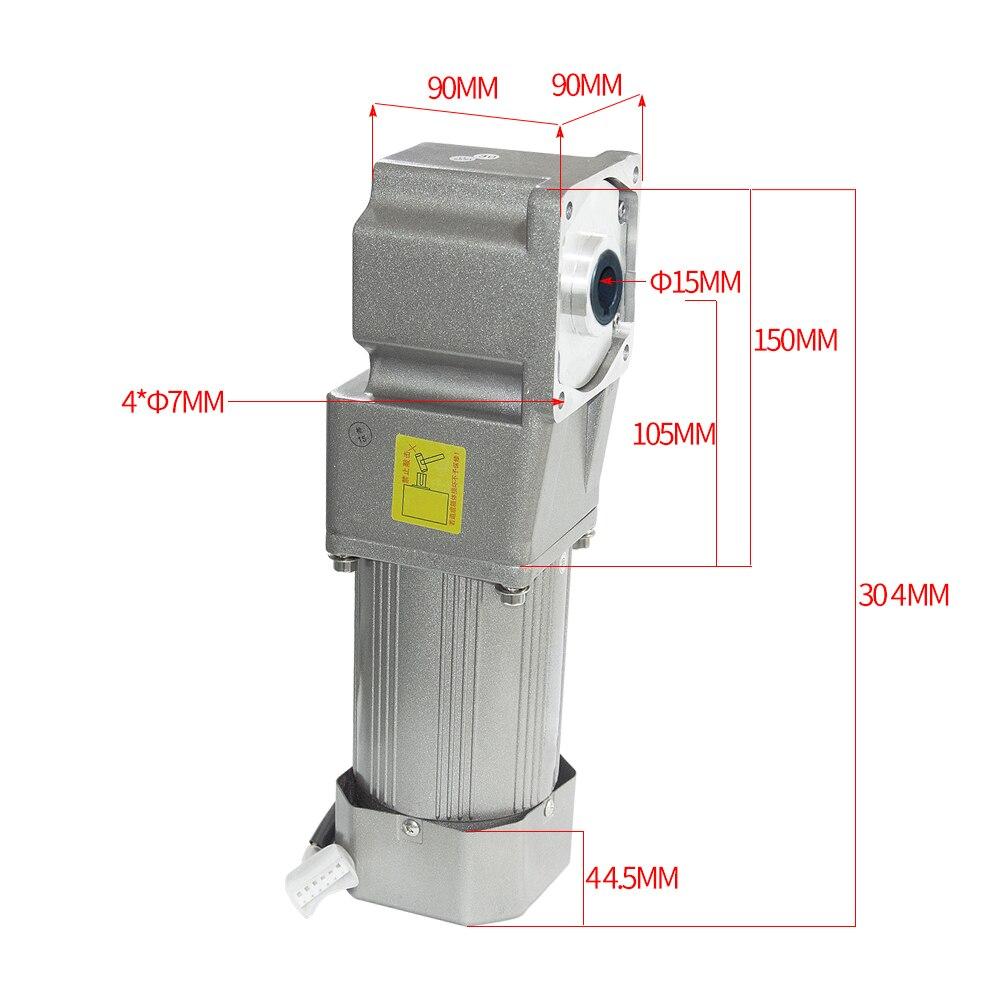 AC120-5GURH motor alto da c.a. do torque com motor da engrenagem da c.a. da caixa de engrenagens de 5 gurh 110 v/220 v 120 w 7.5/15/23/34/54/75/108/150/180/270/450 rpm
