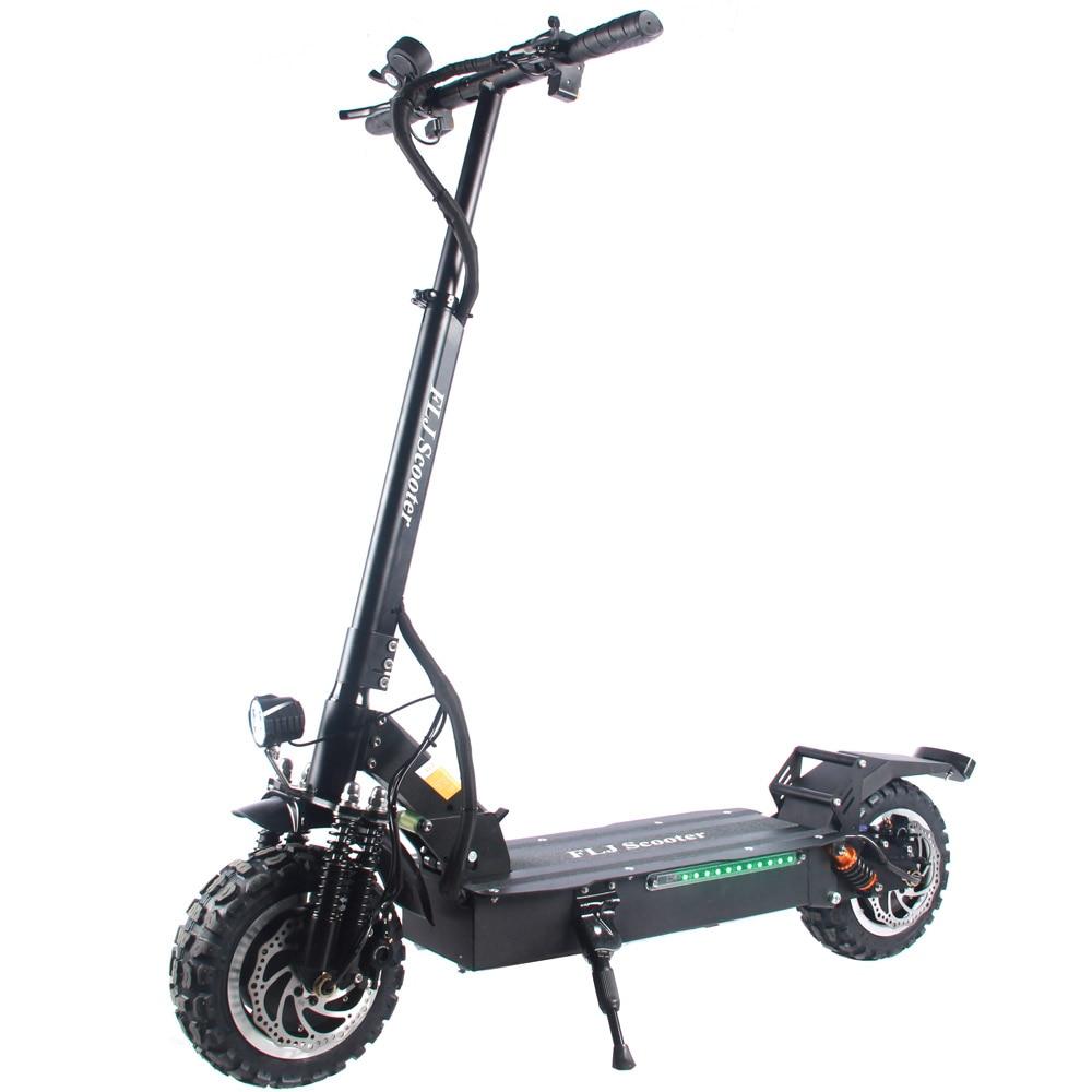 Обновленный электрический скутер FLJ T113, 60 В/3200 Вт, Электрический скутер с двойным мотором, электроскутер для взрослых