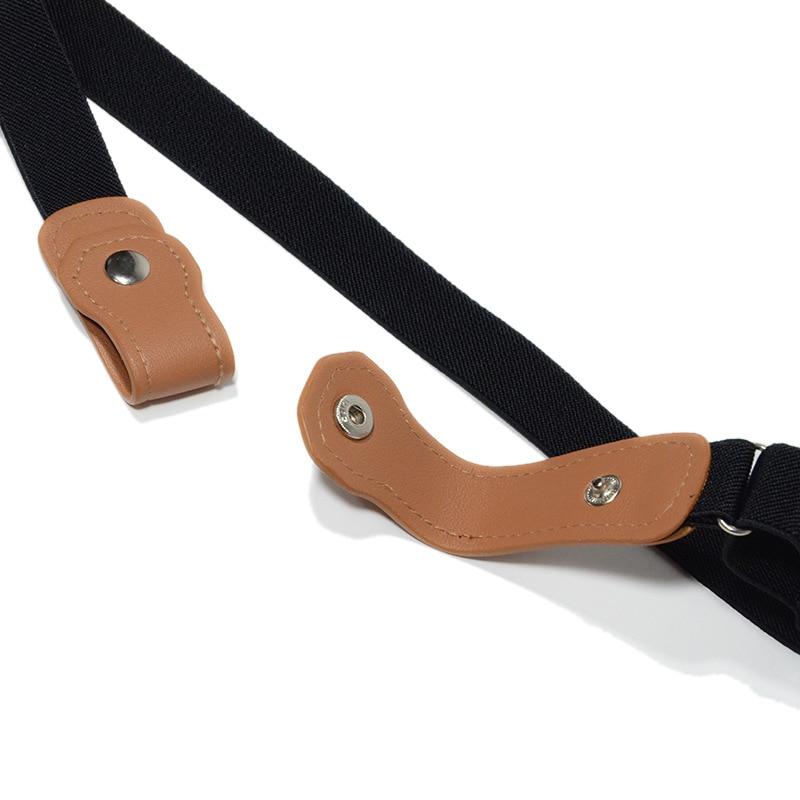 Women Stretch riem Men Jeans Easy Belt Without Buckle Elastic Belts For cintos extensible Kids Boys girls cinturon mujer magic