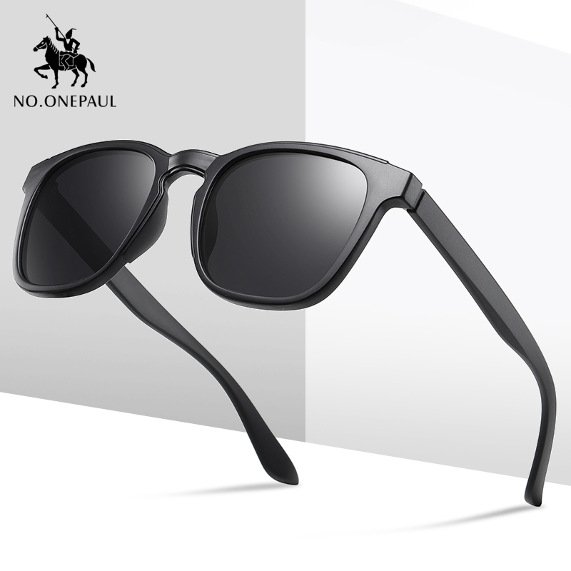 NO.ONEPAUL Men Sunglasses Oculos De Sol UV400 Polarized Sunglasses Men Brand Design Eye Women Semi Sun Glasses Design New