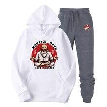 2019 New cool Brand Men cozy Hoodies Long Sleeve Old man Zhu Printed sweatshirt mens casual hoodies sportswear hooded