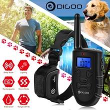 Digoo DG-PPT1 Wiederaufladbare Elektronische Hund Kragen Hund Schulungen Beep/Vibration/Statische Stimulation Stop Bellen 330 Yds ALLE Größe