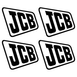 Para jcb velho aufkleber etiqueta bagger escavadeira 4 adesivo estilo do carro