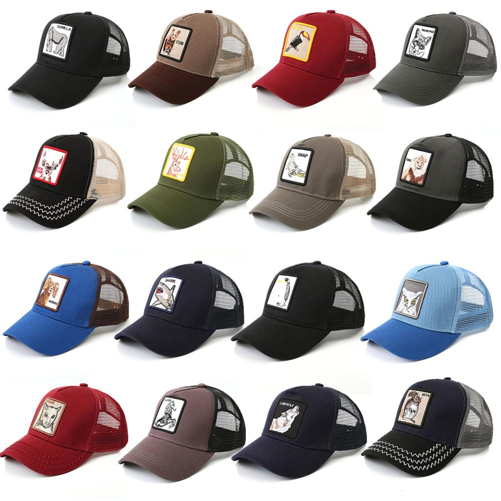 New Animal Farm Goorin Bros Trucker Eye Of The Tiger Cap Baseball Party Hat Cosplay Hat Woodpecker lion Baseball Cap Trucker Hat orologio delle forze speciali