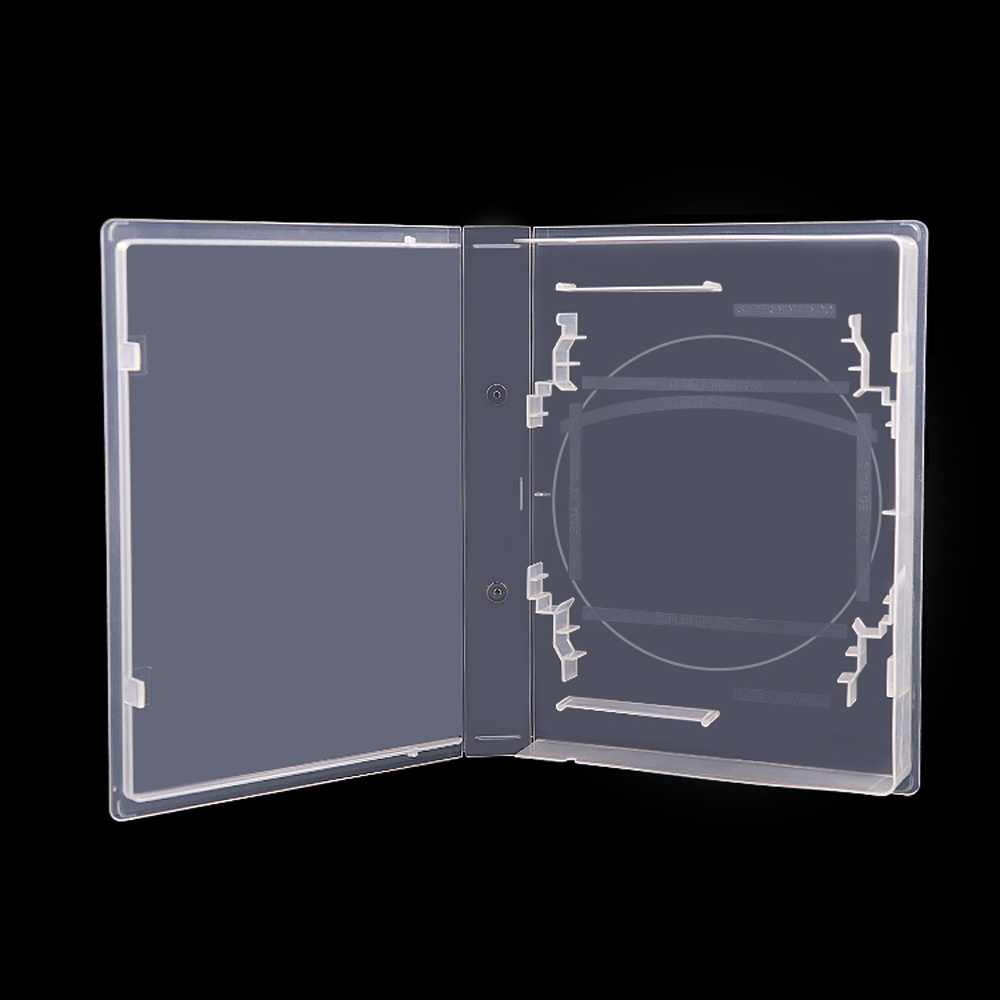 100pcs Transparent Box Game Card Cartridge CD DVD Protector Case For N64/SNES (US)/Sega Genesis/MegaDrive Universal Shell image