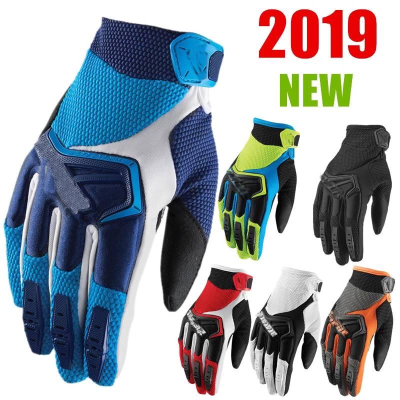 2019 Motocross Gloves 6 Colors Mtb Gloves BMX ATV MTB Off Road Motorcycle Gloves Mountain Bike Gloves