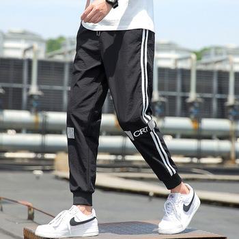 Męskie spodnie joggery męskie spodnie streetwear spodnie męskie spodnie bojówki męskie męskie spodnie dresowe bawełniane pełnej długości tanie i dobre opinie Harem spodnie Mieszkanie REGULAR COTTON CASHMERE Mikrofibra Modalne Midweight Suknem NONE Na co dzień Elastyczny pas K-QD1