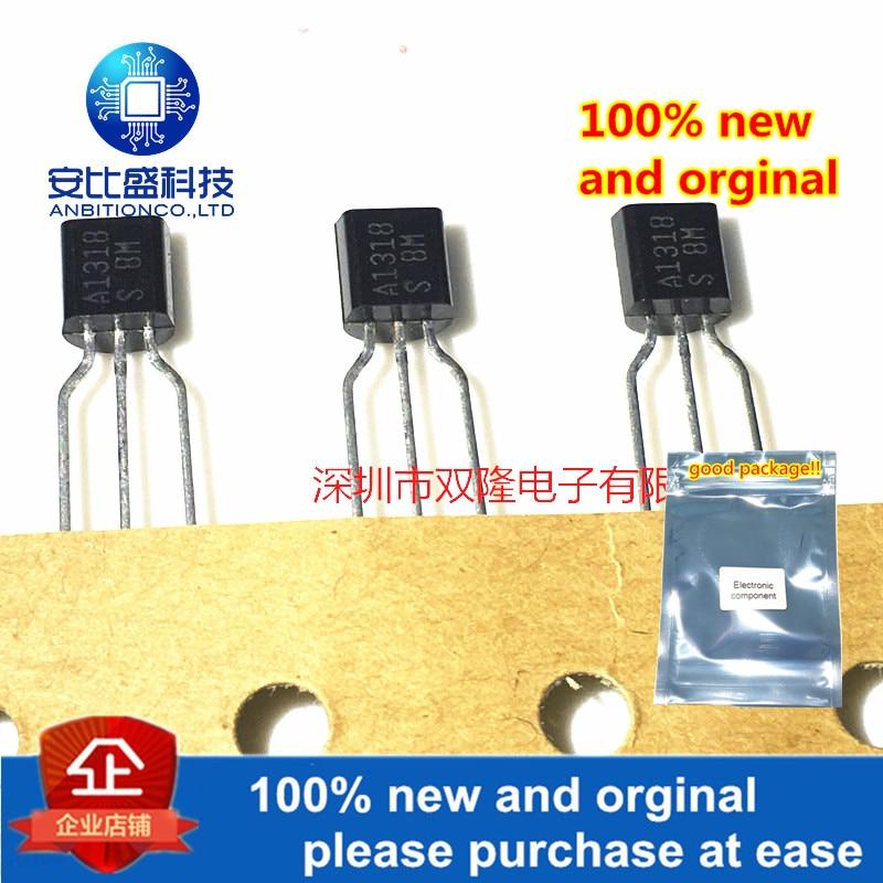20pcs 100% New And Orginal 2SA1318-S A1318 TO92 0.2A 50V In Stock