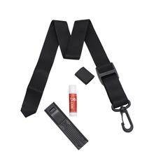 4 in 1 Saxophone Accessories High Quality Nylon Neck Strap + Premium Cork Grease + Thumb Rest Pad + Sax Reeds Clip