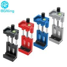 BGNing XJ 8 Telefon Clip Stativ Kopf Halterung Handy Halter für Taschenlampe Mikrofon w/wasserwaage Kalten Schuh Montieren adapter