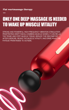 High Power muscle massage gun High speed vibration massager theragun after fitness Decompose lactic acid relief pain Relax body