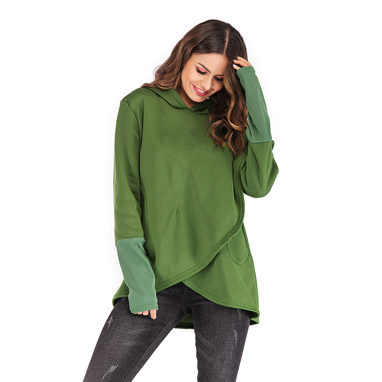 Women Hoodies Sweatshirts Autumn Winter Long Sleeve Pocket Pullover Hoodie 39