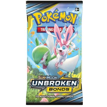 324Pcs Pokemon TCG: Sun & Moon Unbroken Bonds Booster Box Trading Card Game 2
