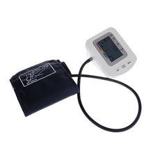 Automatyczne cyfrowe LCD ramię Monitor ciśnienia krwi inteligentny strona główna medycyna miernik ciśnienia krwi tanie i dobre opinie OOTDTY 1 9 Cali i Pod DIGITAL Arm Blood Pressure Monitor