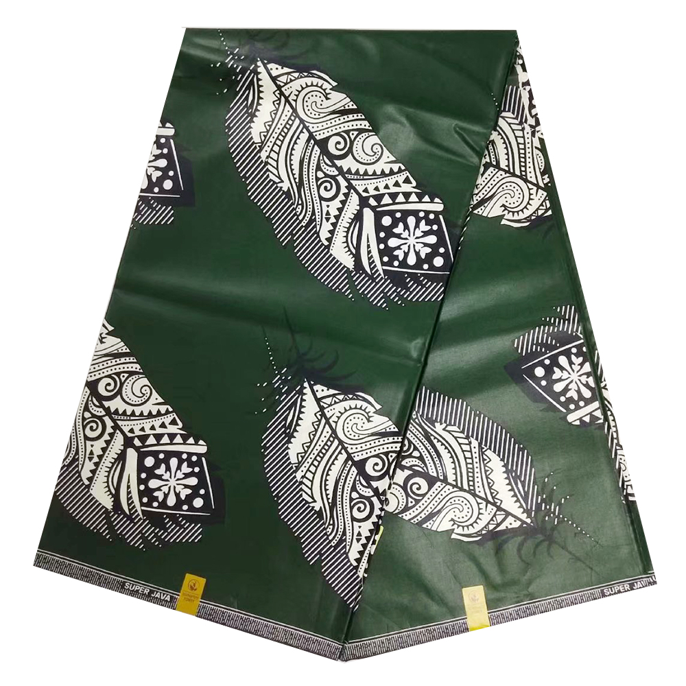 2019 High Quality Nigerian Java Wax Print Fabrics Real Netherlands African Pange Wax Textile For Dress 100% Cotton 6 Yards