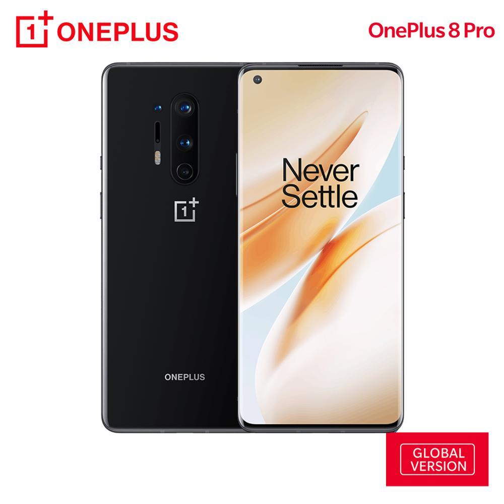 OnePlus 8 Pro wersja globalna 12GB RAM 256GB ROM 5G Smartphone Snapdragon 865 48MP Quad Camera 120Hz 6.78
