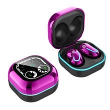 S6 SE Tws bezprzewodowe słuchawki Bluetooth wodoodporne słuchawki douszne z redukcją szumów sportowe mini w słuchawkach dousznych do słuchawek Galaxy