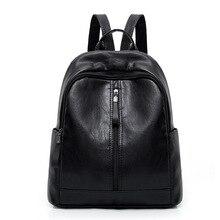 JIAOO Casual Fashion Women Backpack Waterproof Travel Female Leather Bags for School Teen Womens Bag Mochila Feminina
