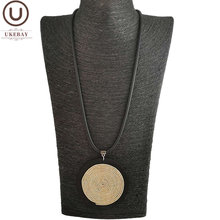 Ukebay Новые ожерелья ручной работы с кулоном для женщин Резиновая