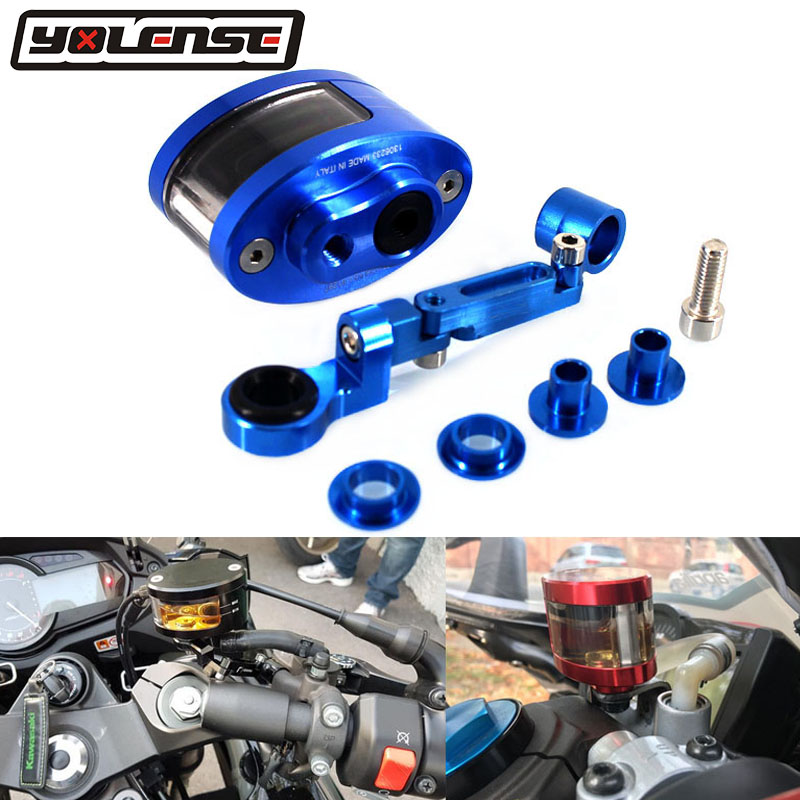 Small Large Brake Clutch Reservoir Sock Cover Fit For BMW R1200GS S1000RR RT XR