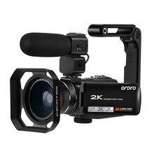 Video Camera Camcorder Full HD Ordro Z63 2K@30FPS IR Night V
