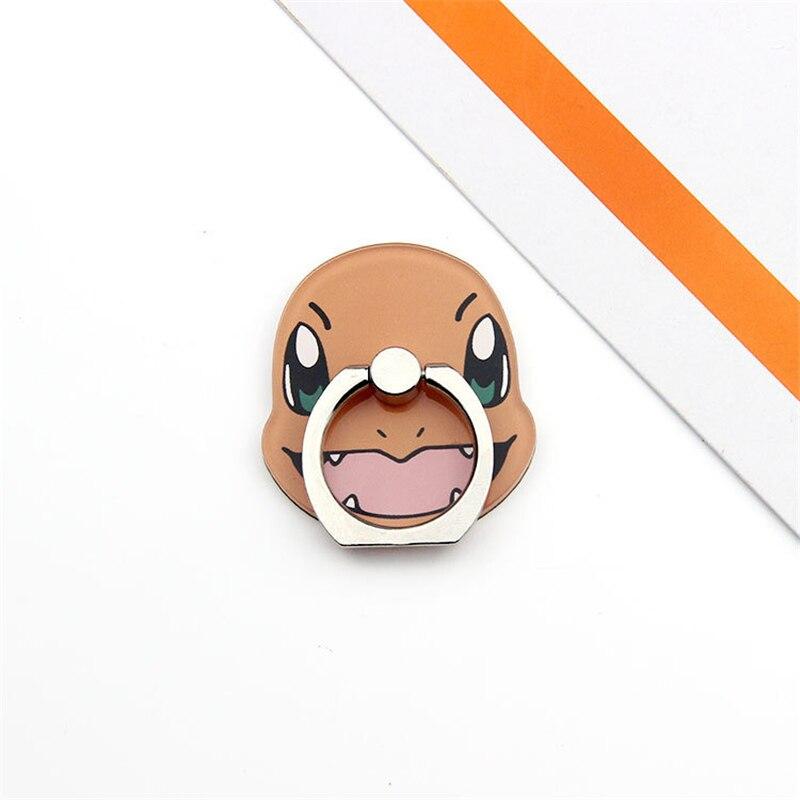 Pokemon Go Pocket Monster Pikachu косплей реквизит Poke Ball Cute Charmander Psyduck держатель для мобильного телефона Регулируемая рамка - Цвет: C