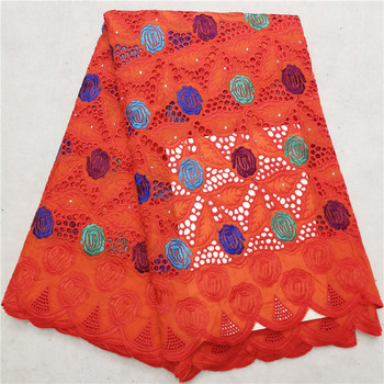 swiss voile lace in switzerland tissu dentelle red nigerian lace fabrics african dresses for women swiss lace fabric H84-17