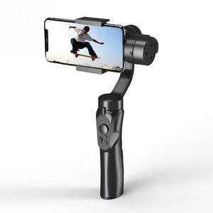 Image 2 - Glatte Smart Telefon Stabilisierung H4 Halter Haltegriff Gimbal Stabilisator für Iphone Samsung & Action Kamera