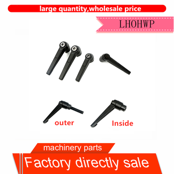 1 adjustable locking handle internal screw M5 M6 M8 M10 M12 M16 7-shaped handle screw slider locking handle for sbr16 20uu cnc image