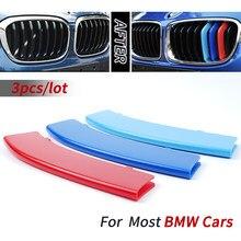 Front Grille Trim Strips For BMW E46 E90 E60 E39 E36 F30 F10 F20 X5 E70 E53 G30 E91 E92 E93 E87 X3 E83 F25 X6 E71 F31 F22 F34 X1