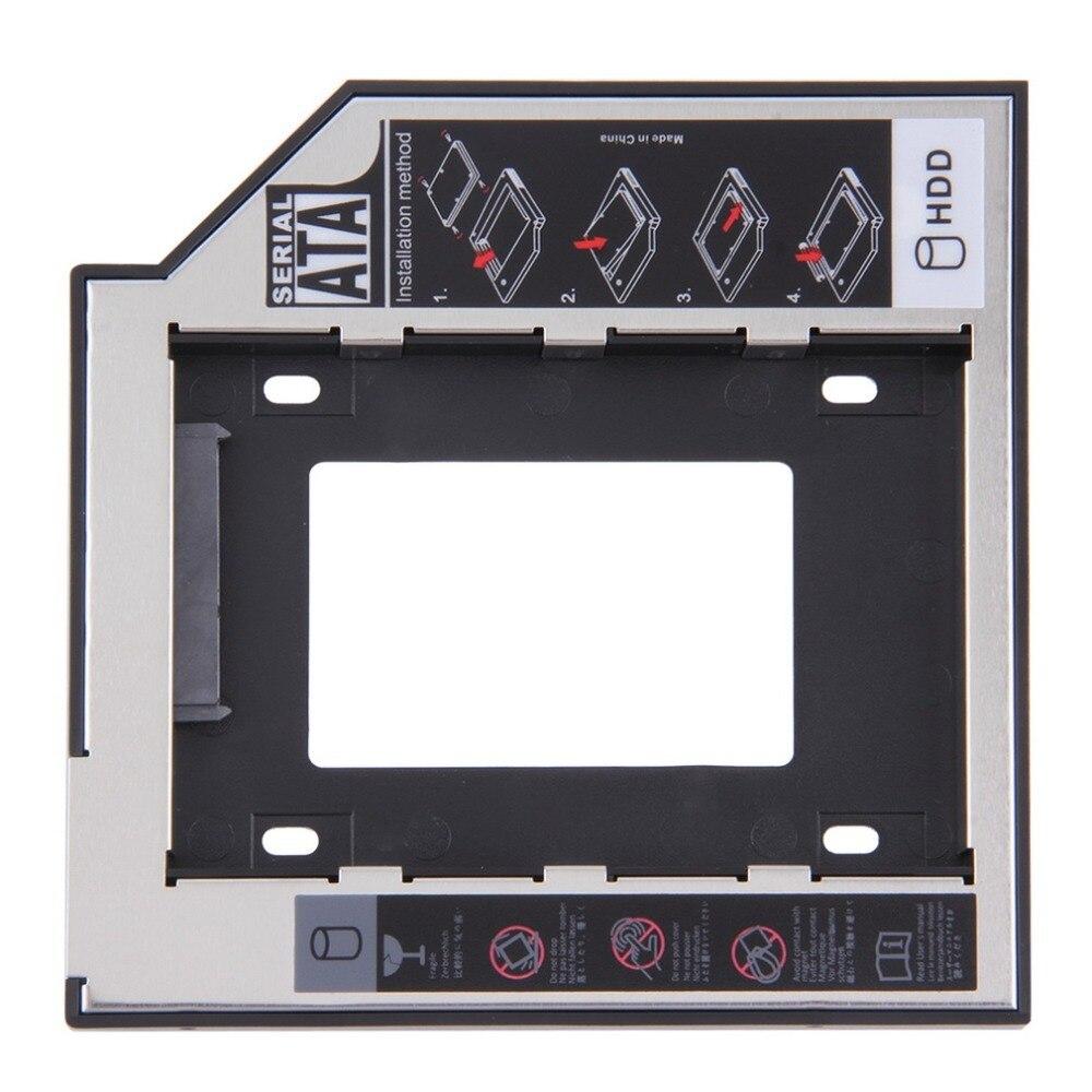 Универсальный 2,5 2 й 9,5 мм Ssd Hd SATA жесткий диск HDD Caddy адаптер отсек для Cd Dvd Rom Оптический отсек Горячий Новый| |   | АлиЭкспресс