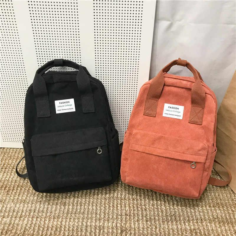 Nouvelle tendance femme sac à dos mode femmes sac à dos collège école sac à dos Harajuku voyage sacs à bandoulière pour adolescentes 2020